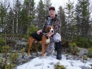 Provets bästa hund - hamilton Grenåsens Szukaj-06 och Bertil Blixt