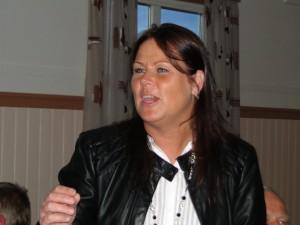 Klubbens sångfågel Kristina Westling