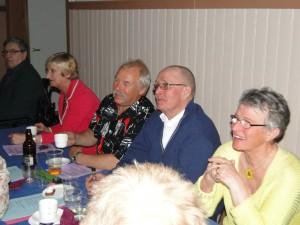 Sven-Eric och Sigrid Gerdin, Curt Alstergren, Bo och Gertrud Persson