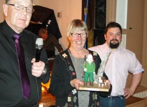 Anders Dunder, Ingrid Fredriksson med Harjägaren och Fredrik Nordin