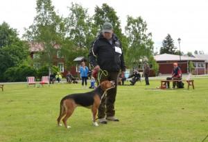 Ham. Jägardalens Ozzy-09 och Leif Toivoinen