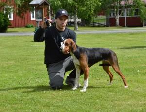 Fin. Ulvfsveåsens Salli-12 och Peter Ström