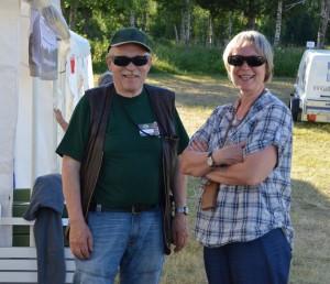 Per-Erik och Marianne Magnusson, schillerföreningen (Foto Leif Aronsson)