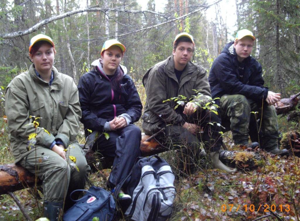 Fältbygget - Ebba Lundberg, Tania Hugosson, Emil Levén och Johan Fransson