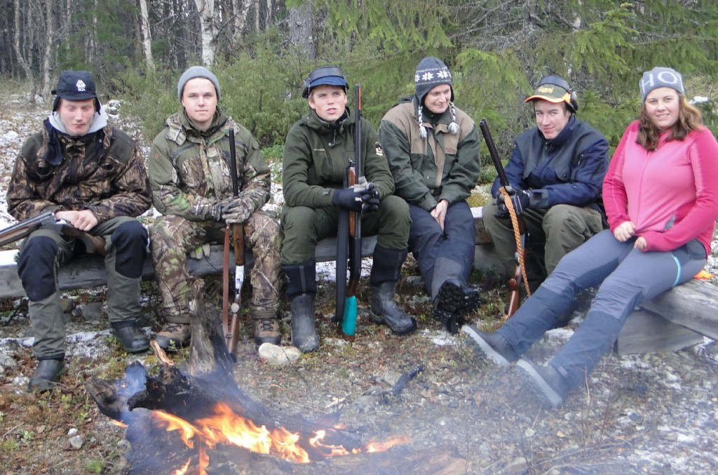 Jimmie Foressell, Pontus Lövgren, Måns Hellström, Linda Sillerström, Sebastian Jonasson och Moa Magnusson