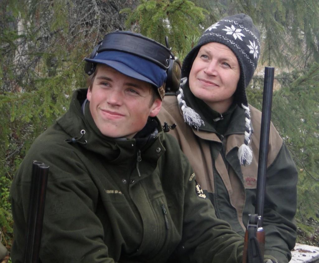 Måns Hellström och Linda Sillerström