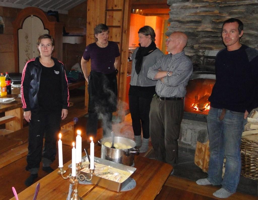 Eva-Lena Blom, Margareta Simonsson, Linda Sillerström och Anders Magnusson