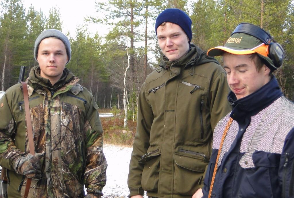 Pontus Lövgren, Tomas Barry och Sebastian Jonasson