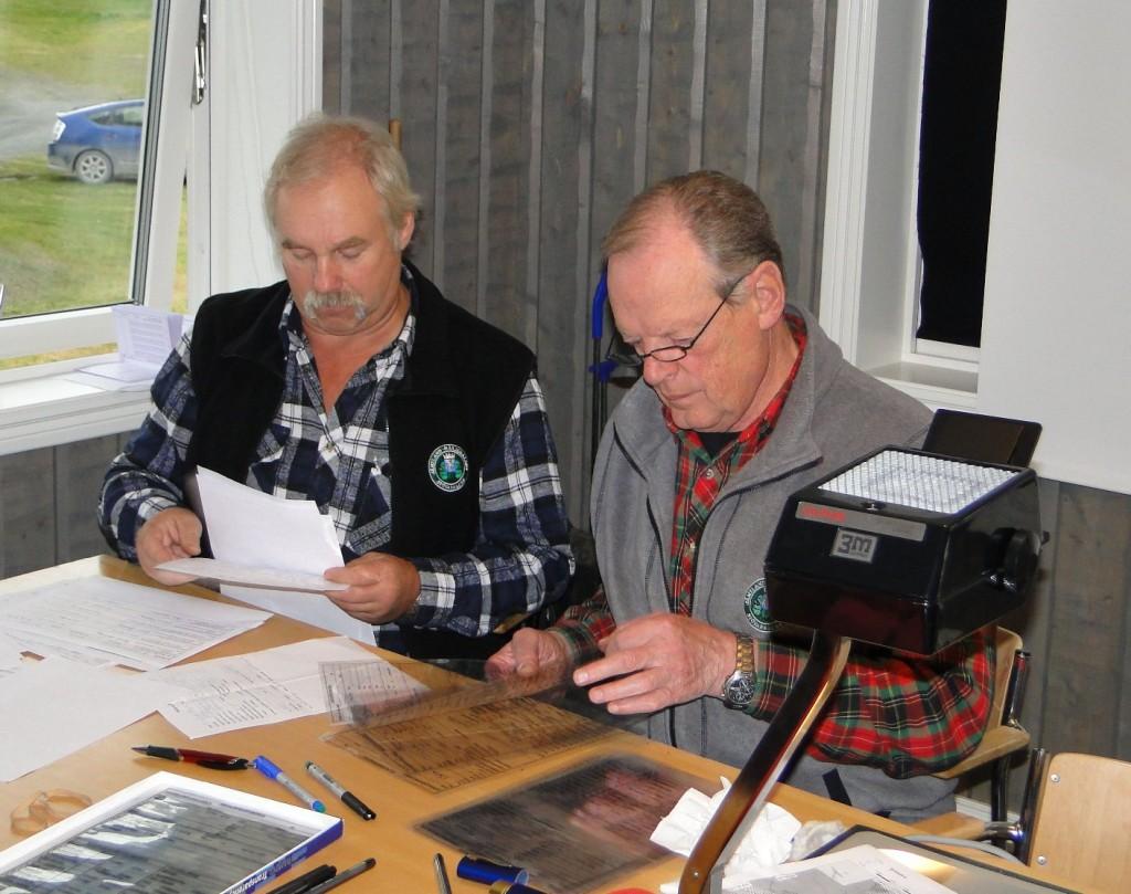 Fullmäktige Curt Alstergren och Jan-Erik Hellman