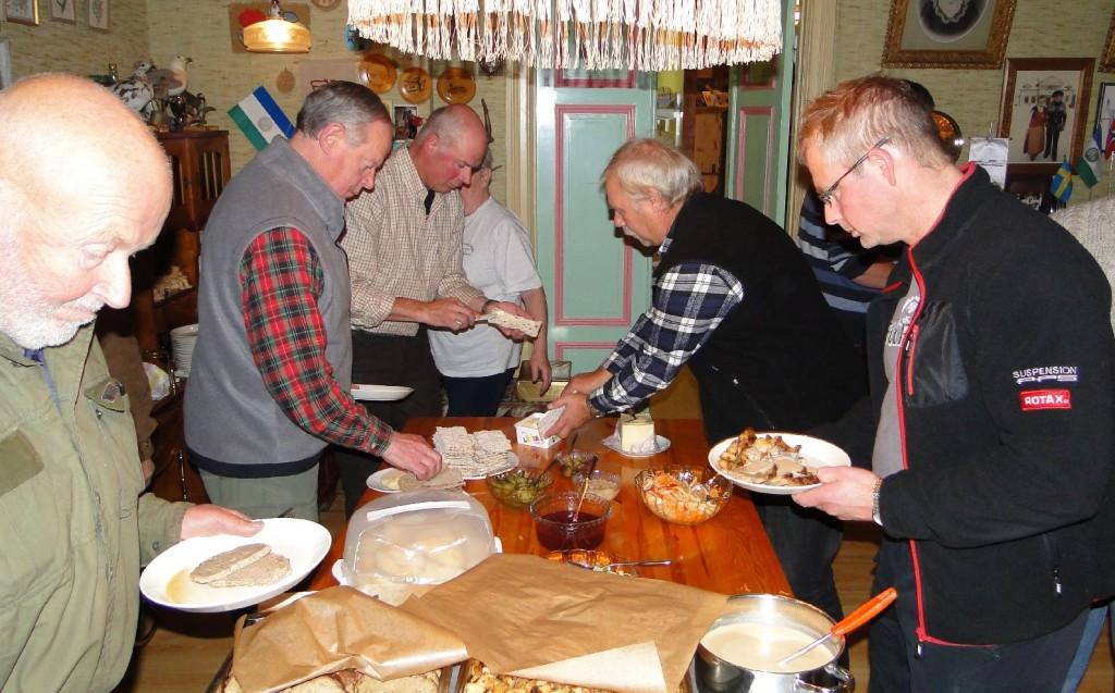 Klas Törmark, Jan-Erik Hellman, Jan Kardin, Curt Alstergren och Leif Aronsson