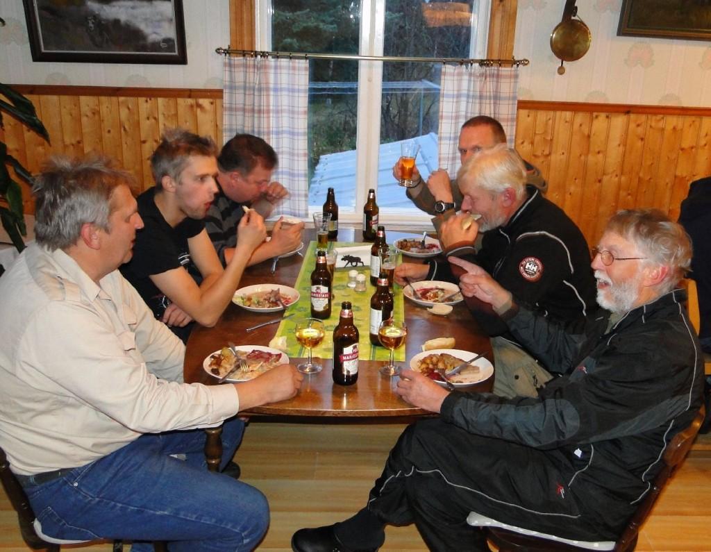 Sture och Anton Nilsson, Kjell-Åke Sundberg, Bengt Selberg, Bengt Bengtsson och Rune Jönsson