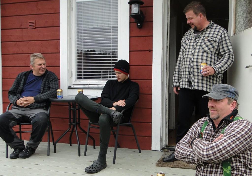 I väntan på mat - Sture och Anton Nilsson, Kjell-Åke Sundberg och Per Roos