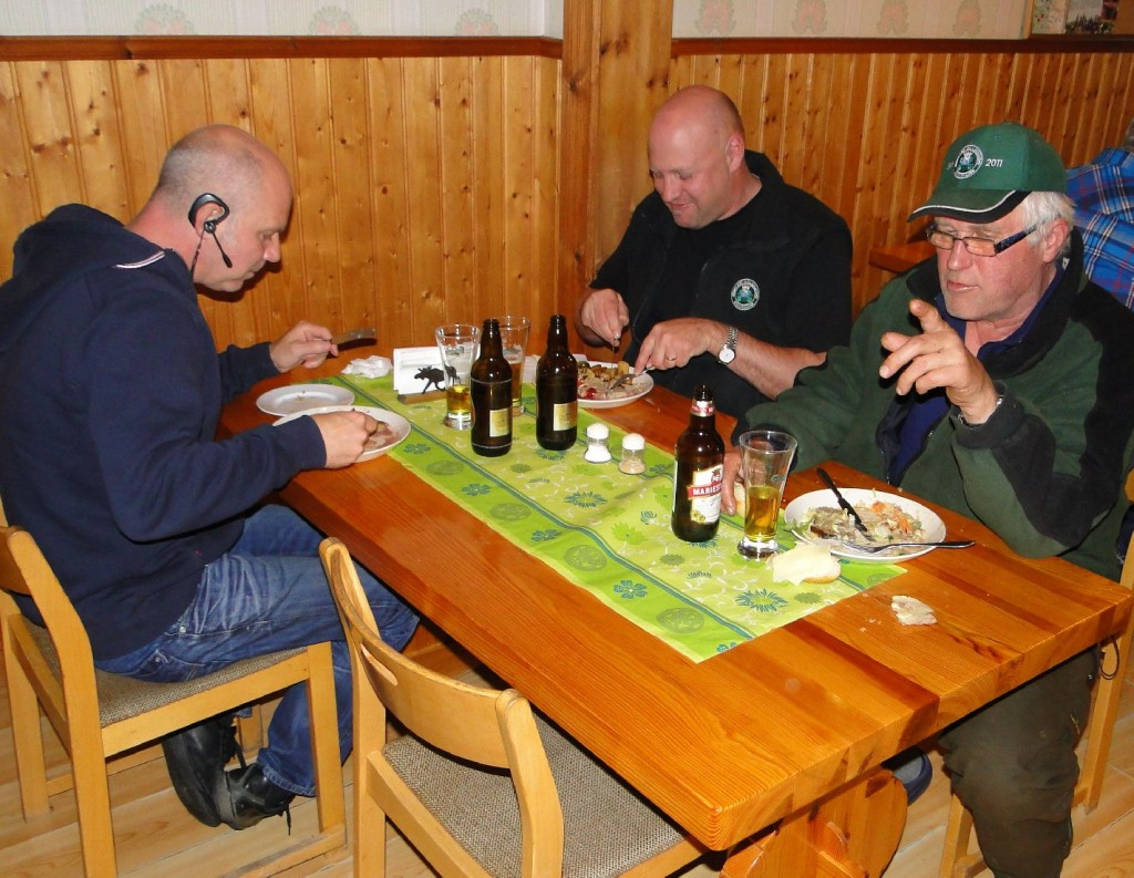 Sven-Olof Nilsson, Lars Olofsson och Ulf Hagen