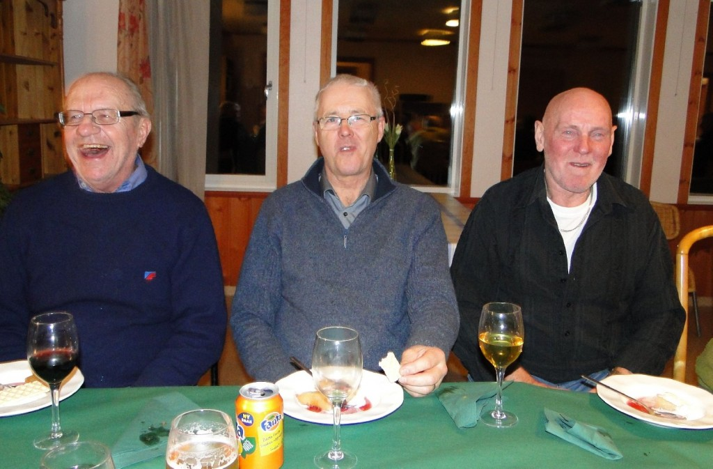 Sten Nordh, Erland Jönsson och Dave Jonsson