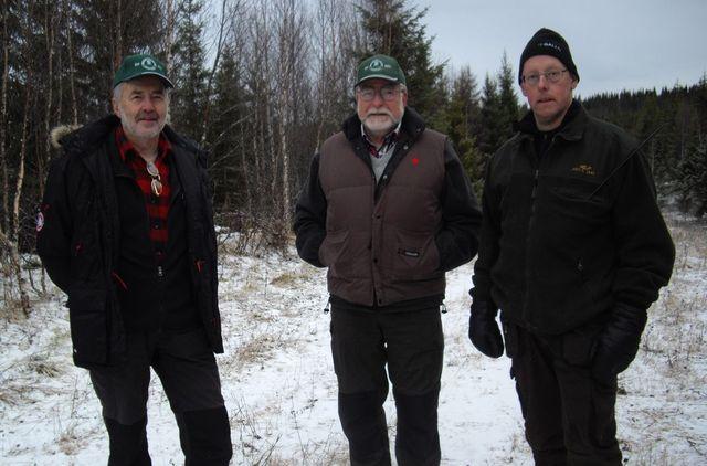 Dennis Sjöö, Carl-Gunnar Hågnäs och Anders Olofsson (Foto Rolf Pellving)
