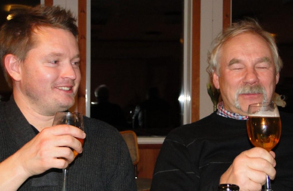 Fredrik Axelsson och Curt Alstergren