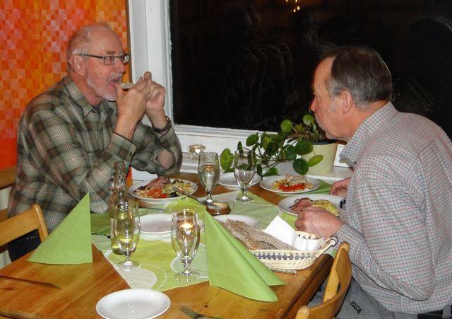 Jan-Erik Wickenberg och Ivan Myhr (Foto Rolf Pellving)