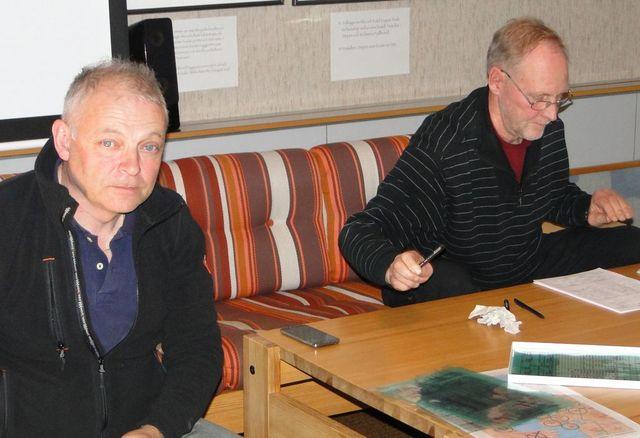 Jörgen Widegren och Mats Eriksson leder kollegiet (Foto Rolf Pellving)