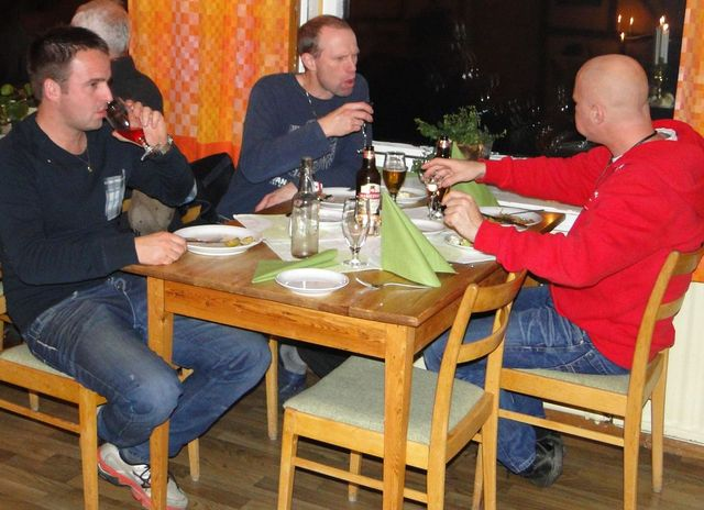 Rune Sliper, Kjell Norberg och Sven-Olof Nilsson (Foto Rolf Pellving)