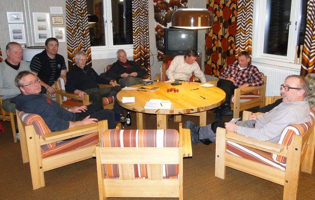 Leif Aronsson,Jan-Erik Hellman, Per Roos, Göran Blixt, Lars  O Törnkvist, Jan Swartström, Rasmus Olsson och Ivan Myhr (Foto Rolf Pellving)