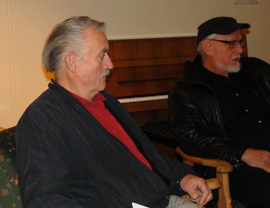 Kjell Gørstad och Knut Berg