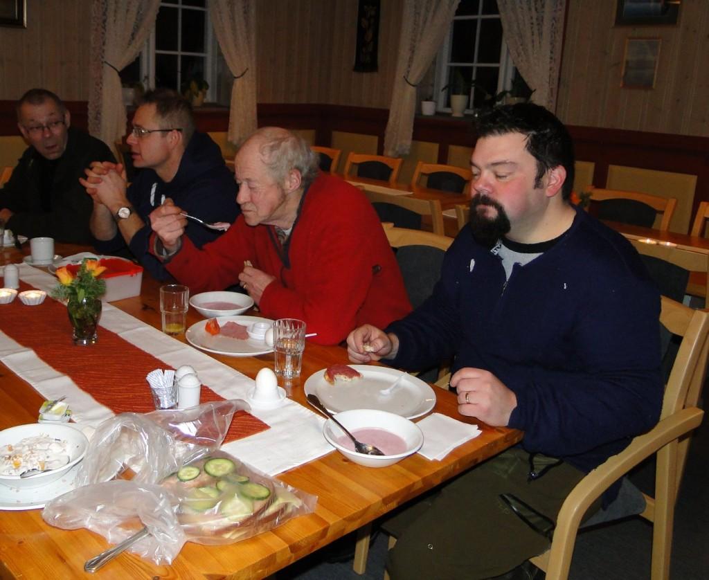 Bo Fredriksson, Leif Aronsson, Per-Yngve Östlund och Fredrik Nordin