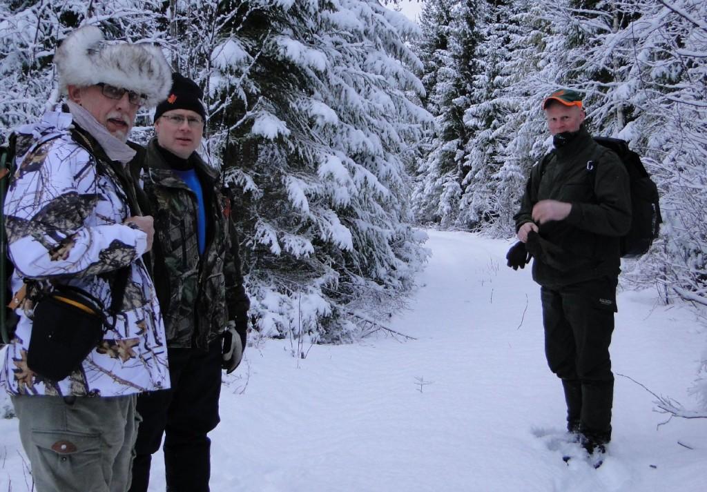 Knut Berg, Leif Aronsson och Trond Reidar Renbjør