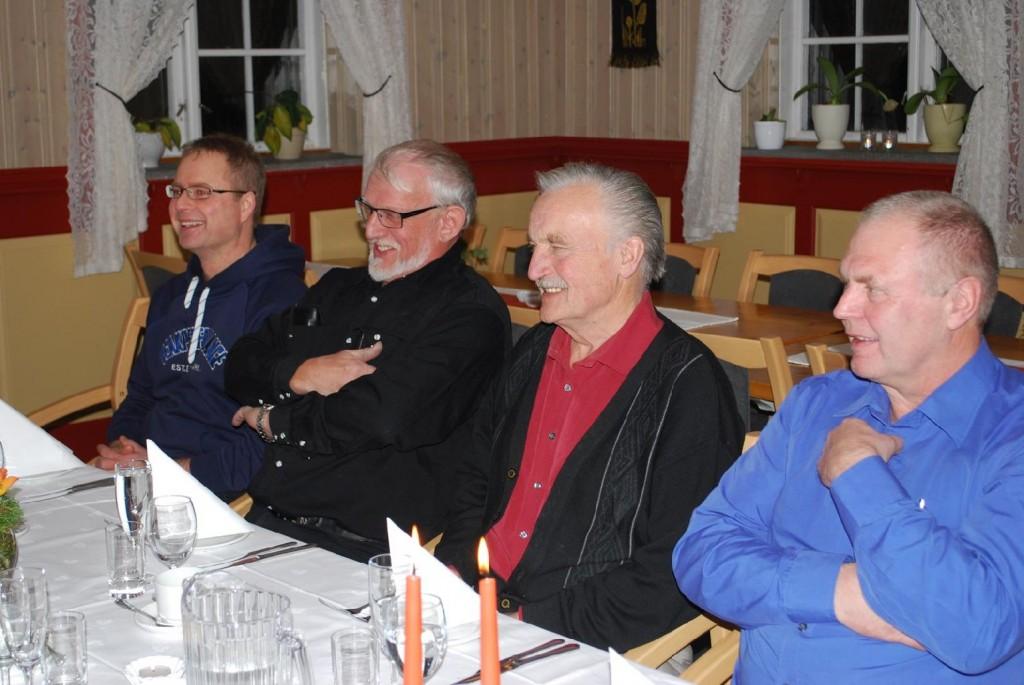 Leif Aronsson, Knut Berg, Kjell Gørstad och Trond Revhaug