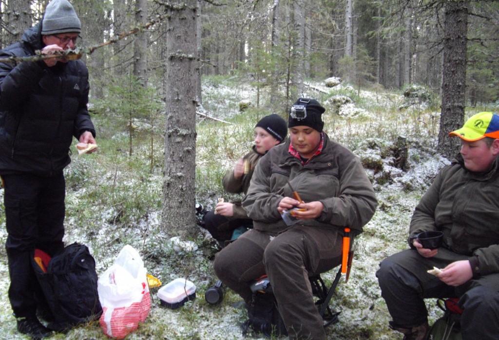 Lennart Arvius, Nils-Emil Andersson, Jonas Bengtlars och Fredrik Lundemo