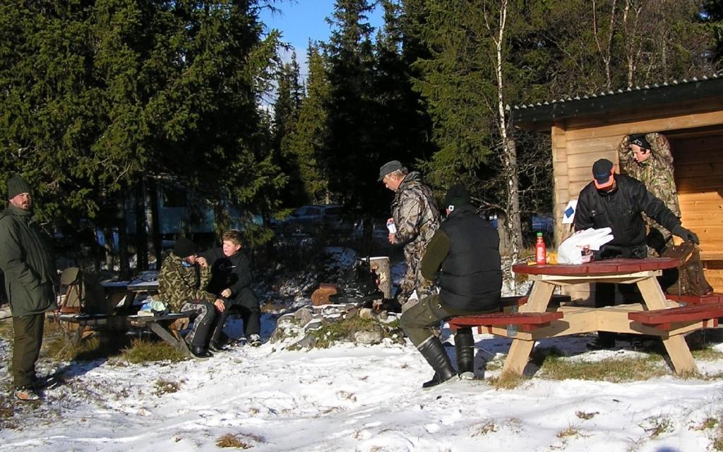 Olle Lindqvist med sonen Jack, Jakob Ekeljung, Curt Alstergren, Marcus Ekeljung, Jan-Erik Hellman, Oliver Bodin Nord