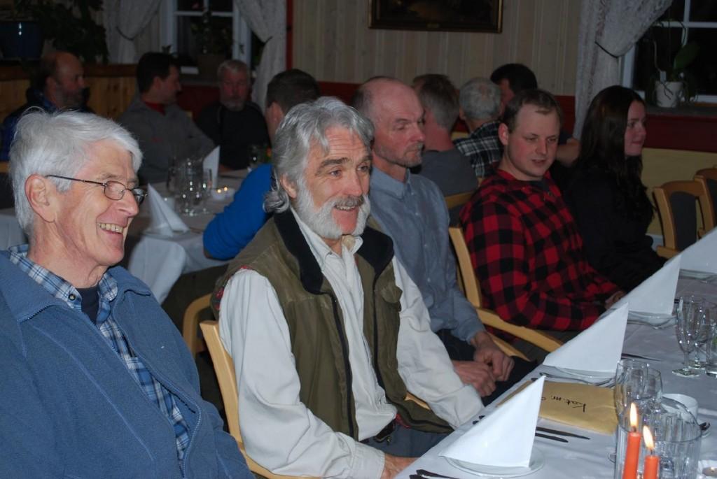 Rolf Pellving, Leif Støfringshaug, Einar Hafskjold, Petter Karlsson och Johanna