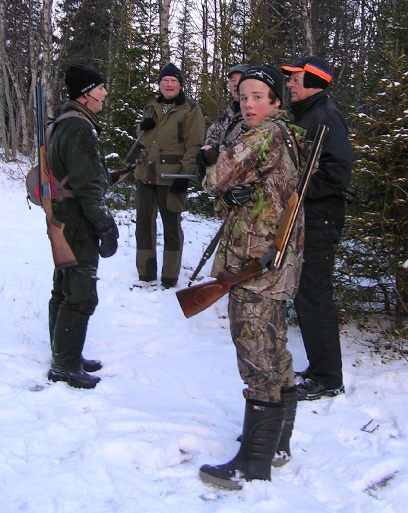 Sven-Olof Nilsson, Birger Eriksson, Curt Alstergren, Oliver Bodin Nord, Jan-Erik Hellman