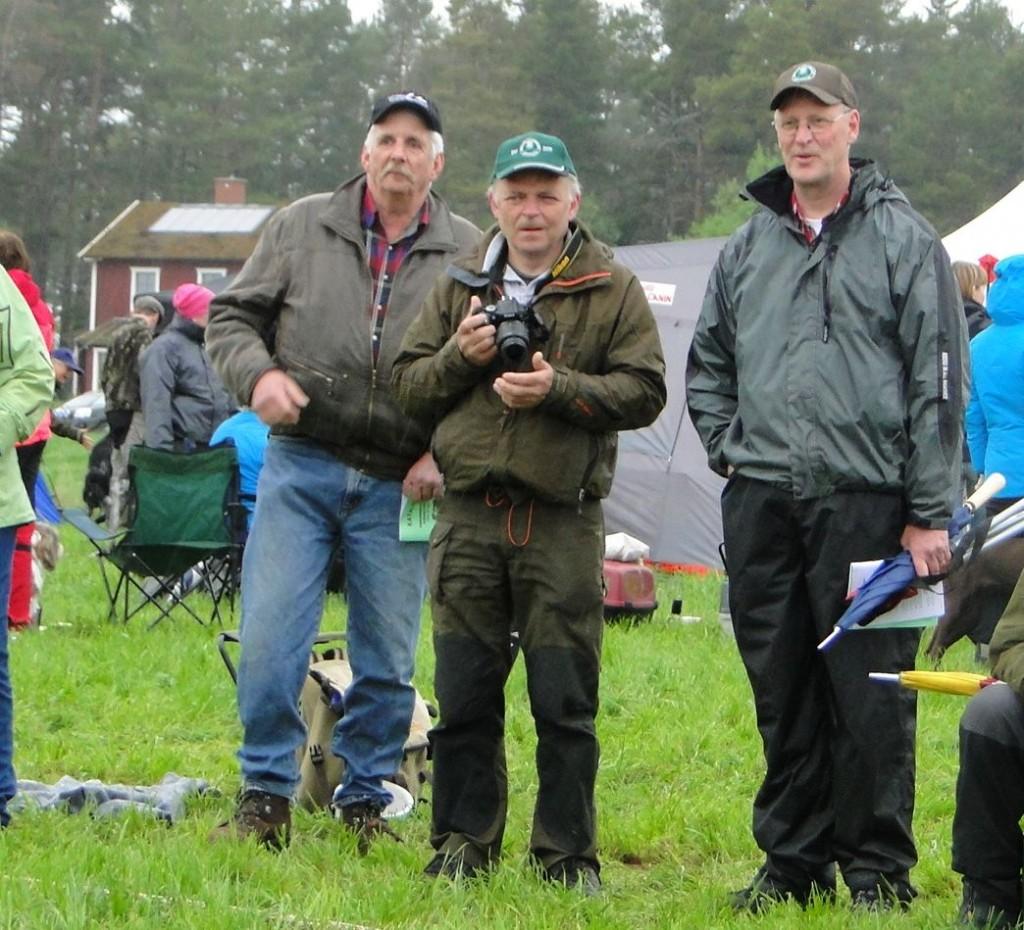 Harry Göransson, Jörgen Widegren och Mats Eriksson