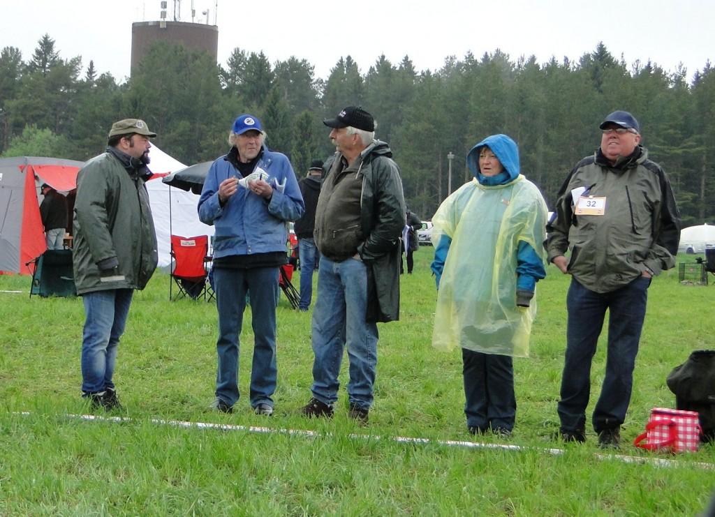 Fredrik Nordin, Per-Yngve Östlund, Harry Göransson, Gunilla och Sven-Åke Grönvik