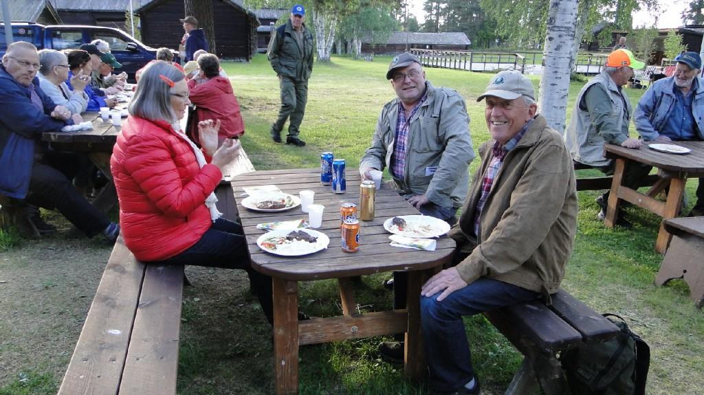 May-Britt Pellving, Gunnar Jonsson och Olle B Häggkvist