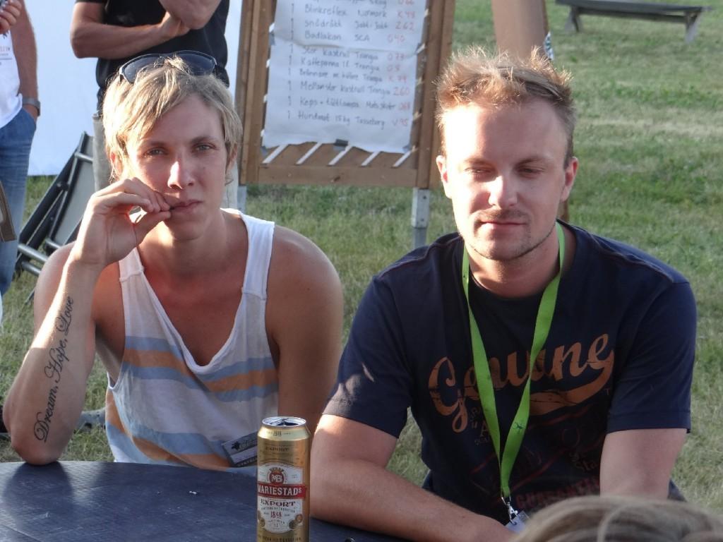Linus Knapp och Anders Holmberg