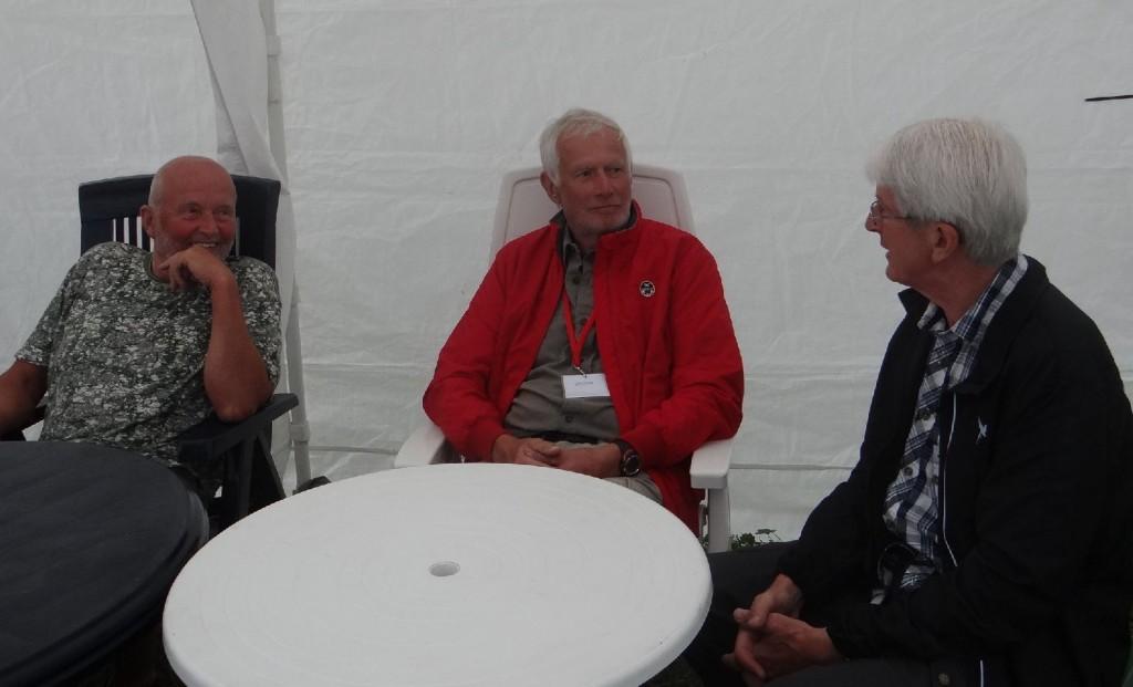 Klas Törmark, Lars O Törnkvist och Rolf Pellving