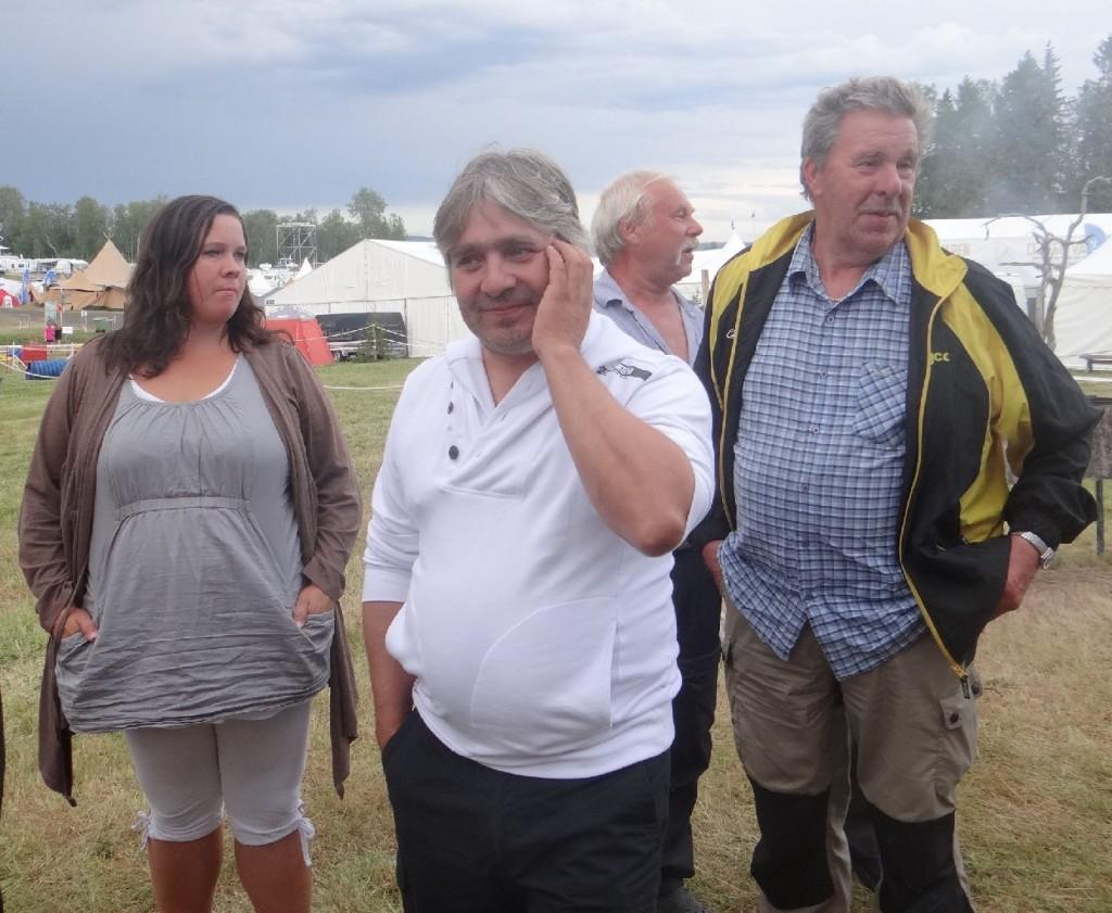 Jeanette Edler och Bo-Lennart Eriksson, Curt Alstergren och  Kjell Lind