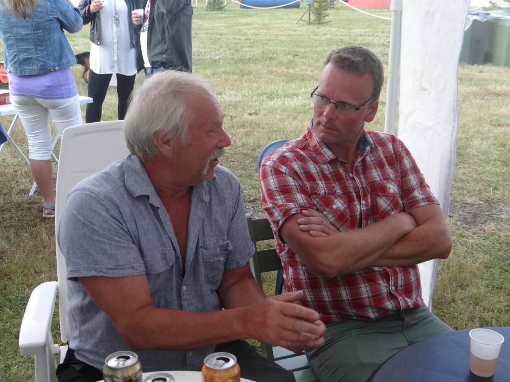 Curt Alstergren och Wille Nyh