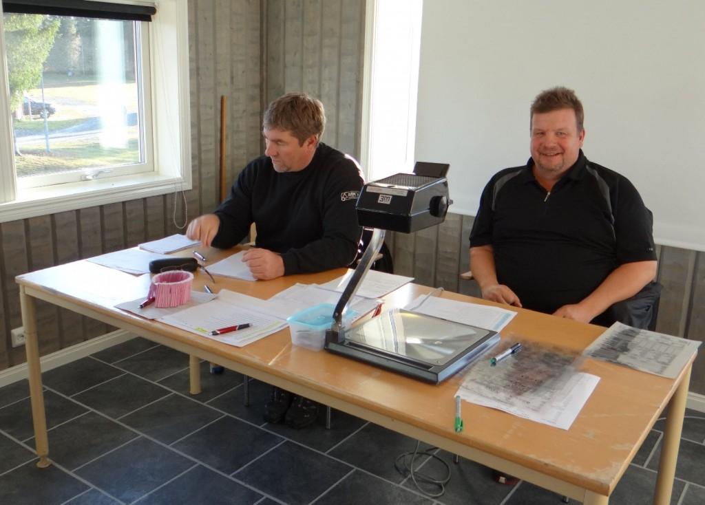 Kommissarie Per Roos och Kjell-Åke Sundberg