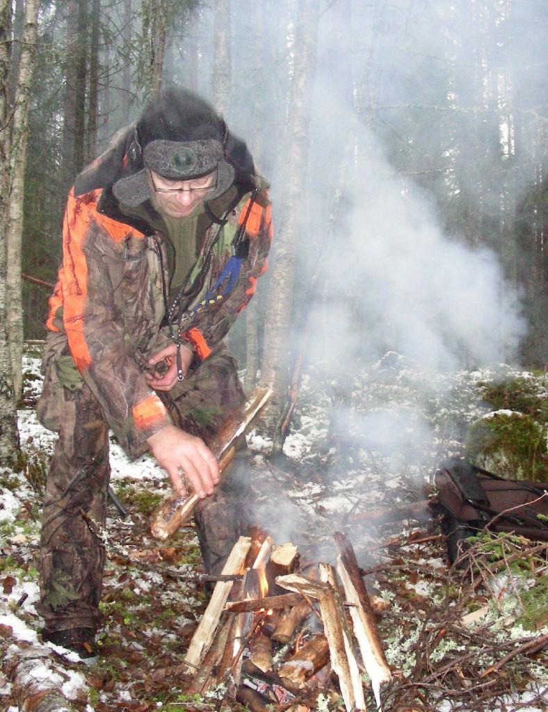 Bo Fredriksson - Det blir nog att elda ett tag