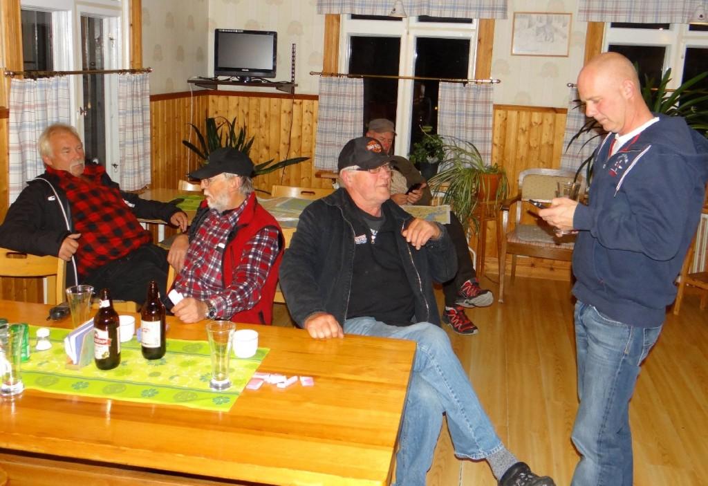 Curt Alstergren, Rune Jönsson, Ulf Hagen och Sven-Olof Nilsson