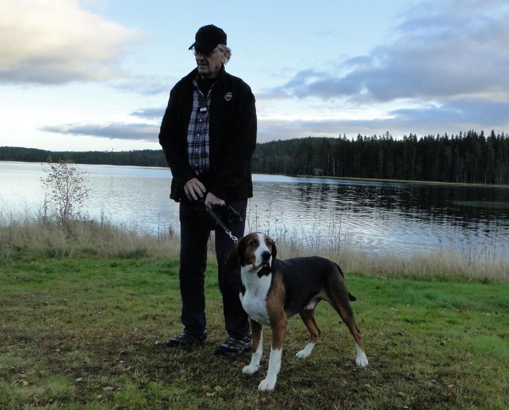 Fin. Åivets Jim-09 och Ove Bergström
