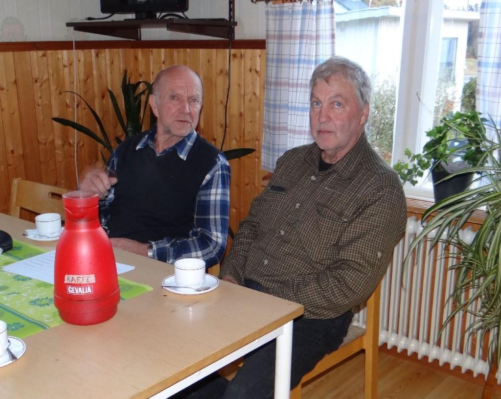 Värmlänningarna Gösta Gren och Ragnar Eriksson
