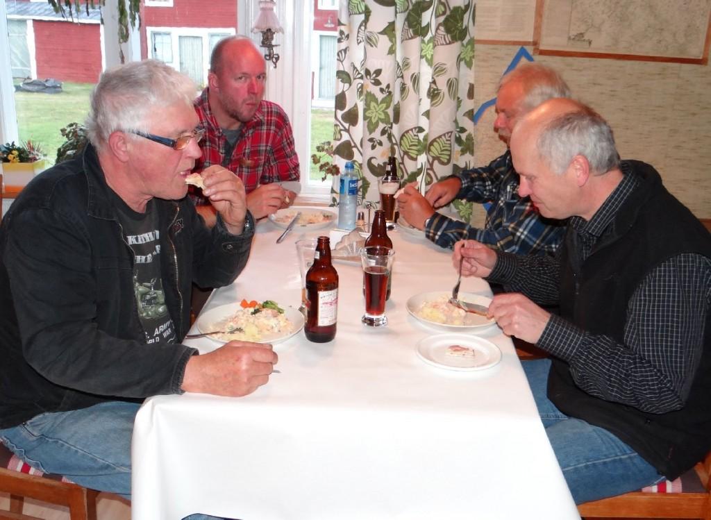 Ulf Hagen, Rickard Johansson, Curt Alstergren och Hans Jonasson
