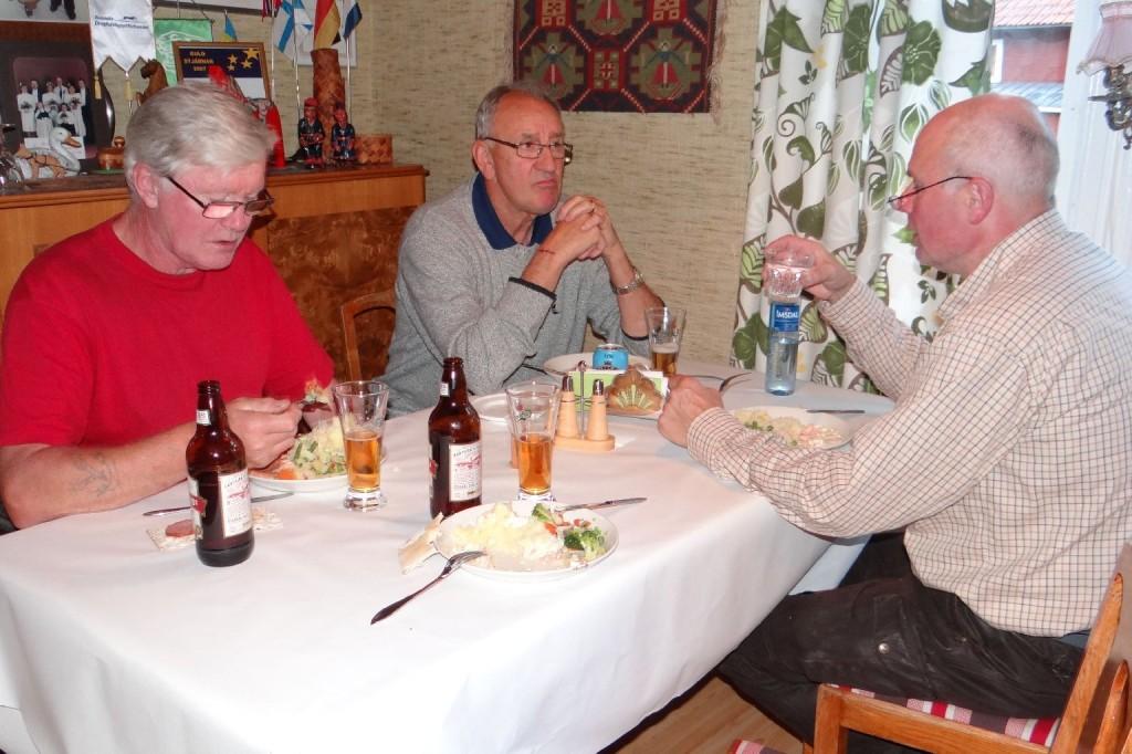 Thord Berglund, Bengt-Åke Persson och Jan Kardin