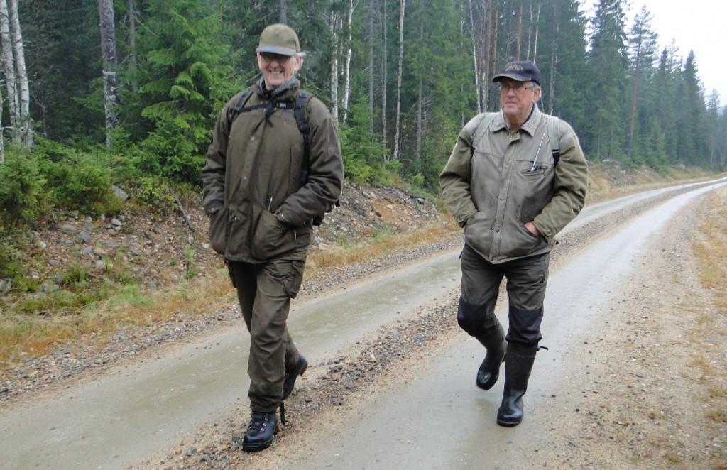 Ove Bergström och Börje Johansson
