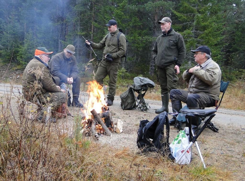 Stefan Nilsson, Ove och Henrik Bergström, Mats Eriksson och Börje Johansson