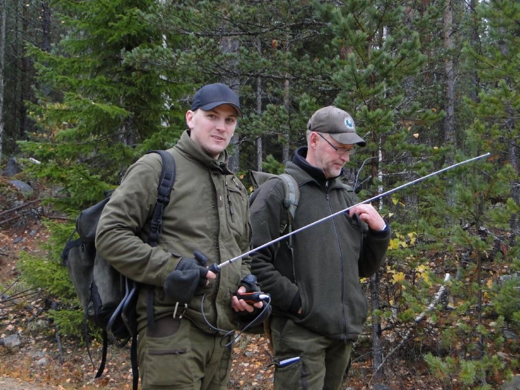 Henrik Bergström och domare Mats Eriksson
