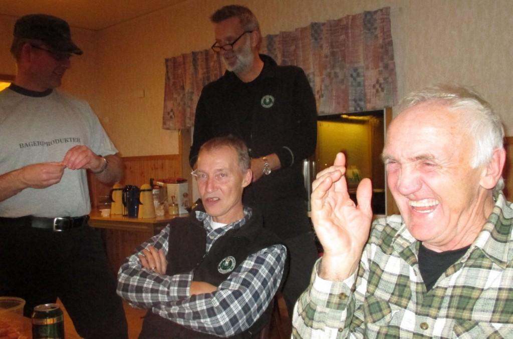 Stående Leif Aronsson och Martin Magnusson, sittande Stefan Andersoon och Björn Östlin